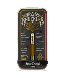 Brass Knuckles Sour Diesel Cartridge | Sativa 1G